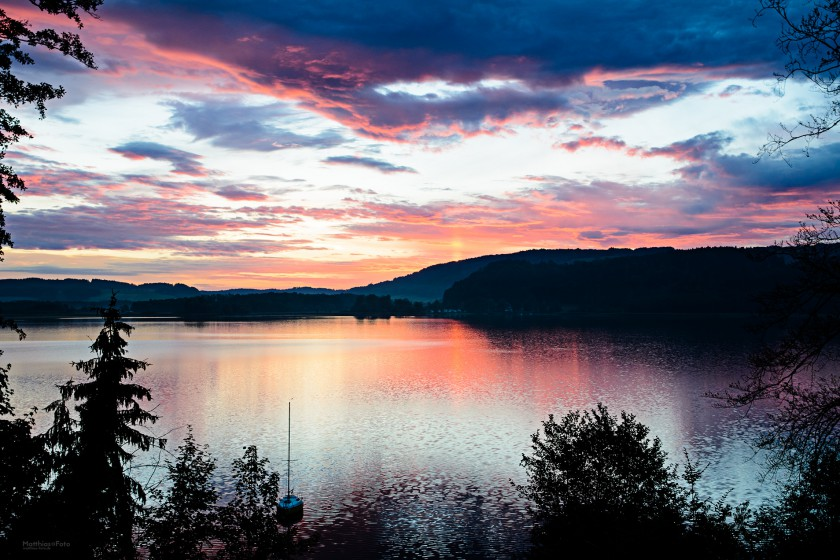Sonneaufgang am Simssee