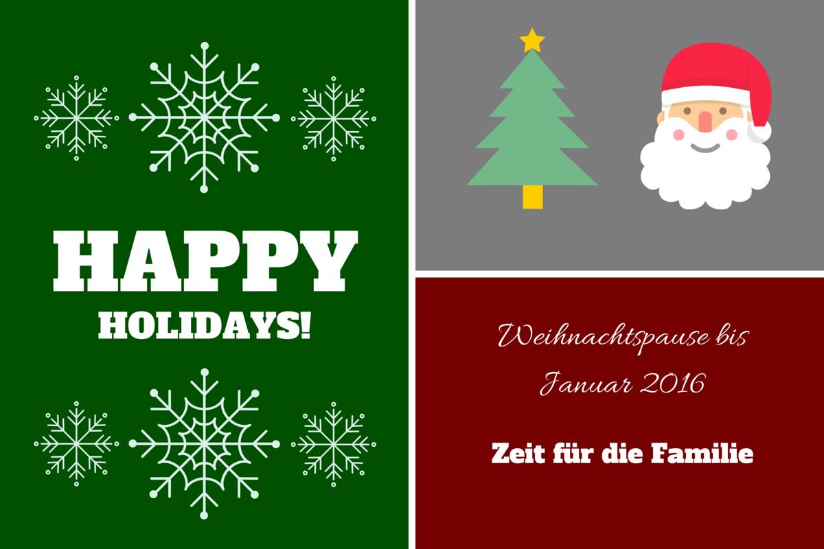 Weihnachtspause Matthias-Foto.de