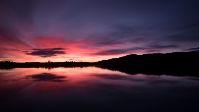 Seehamer See - Sonnenaufgang