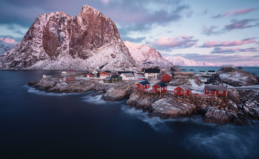 Postcard from Hamnoy - Felix Inden