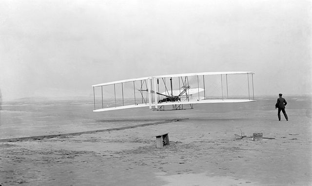 Flugmaschine Bild2 - Wright Brothers