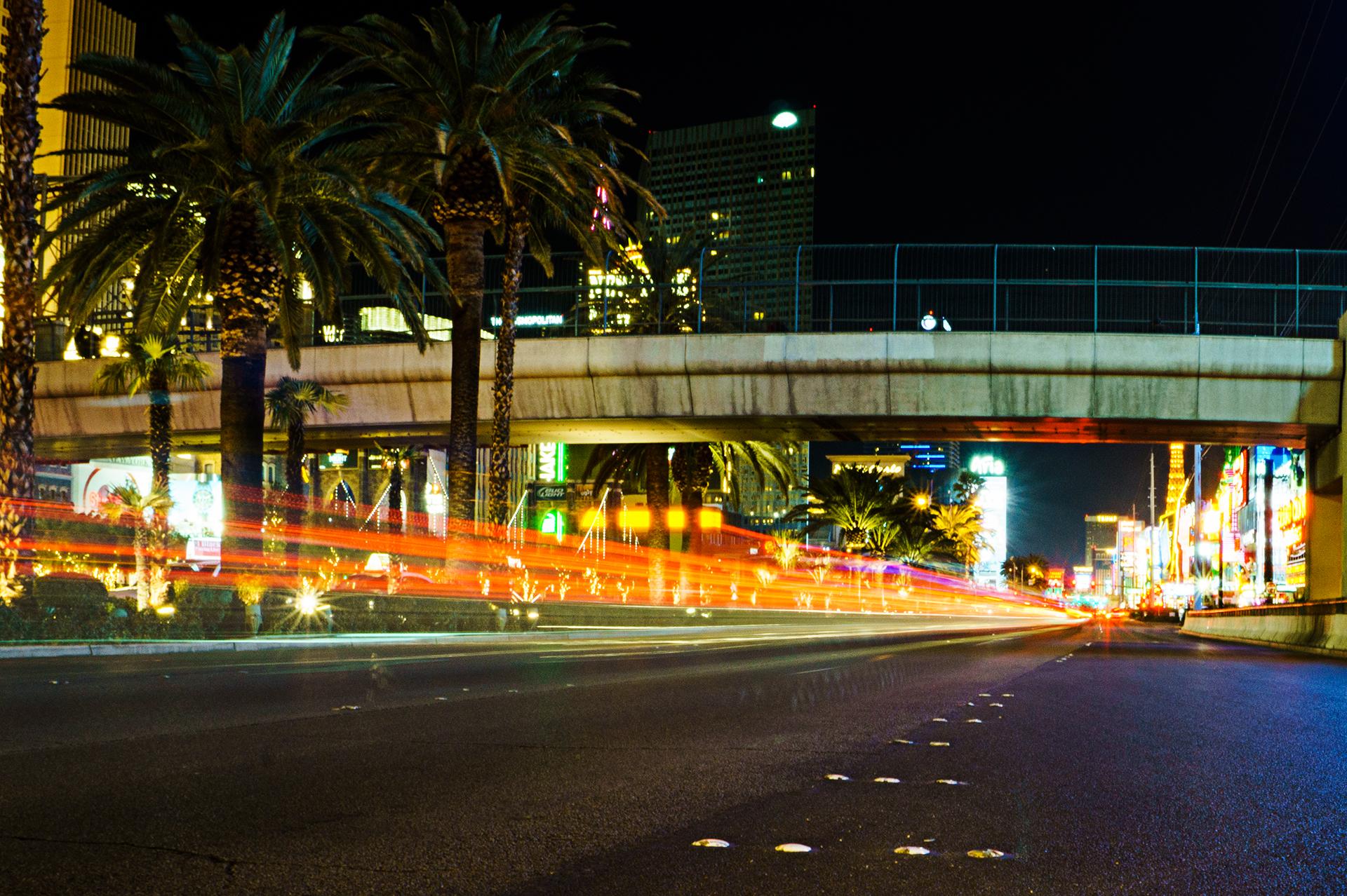 Nervenkitzel: Langzeitbelichtungen in Las Vegas