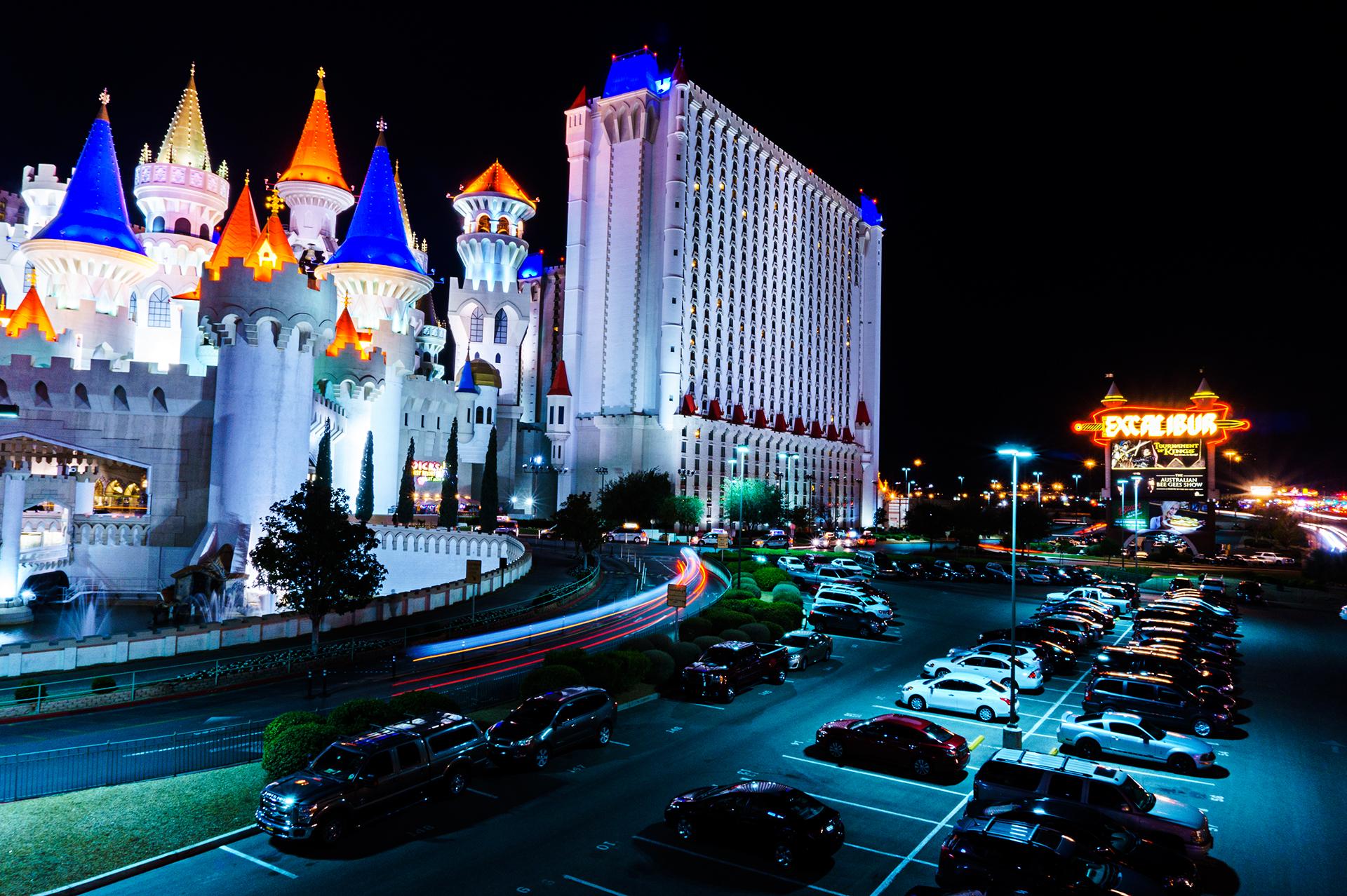 3 Tipps wie du bessere Nachtaufnahmen in Las Vegas machst