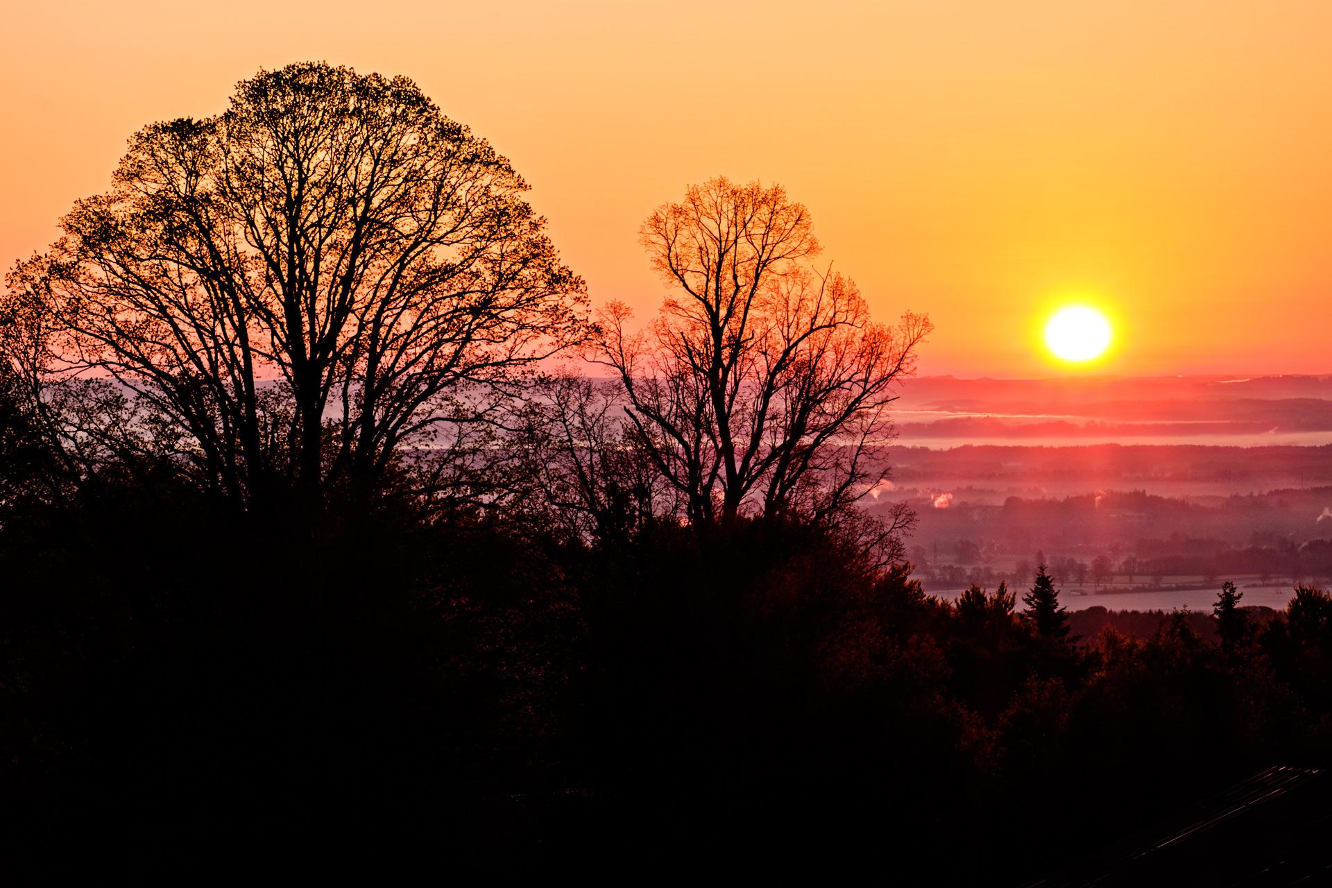 Sonnenaufgang am Irschenberg - Foto Nummer 3