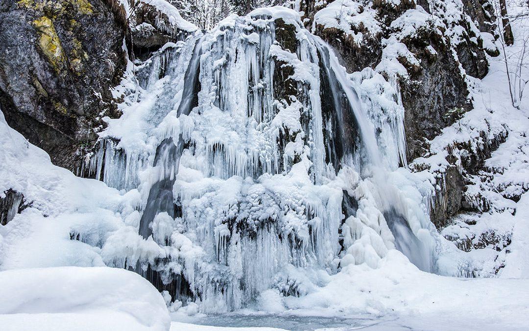 Winter am Josefstaler Wasserfall | Fotodienstag
