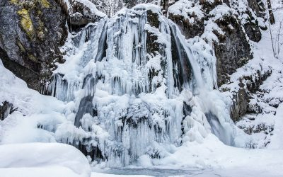 Winter am Josefstaler Wasserfall | Fotodienstag