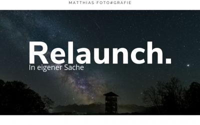 Relaunch – Vorsätze sind blöd und ich bin zurück!