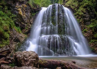Josefsthaler Wasserfall - Langzeitbelichtung